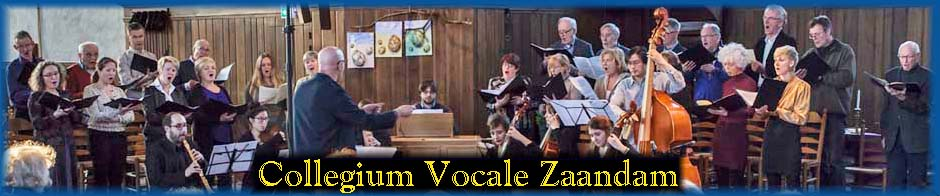 Collegium Vocale Zaandam, Carols 2007